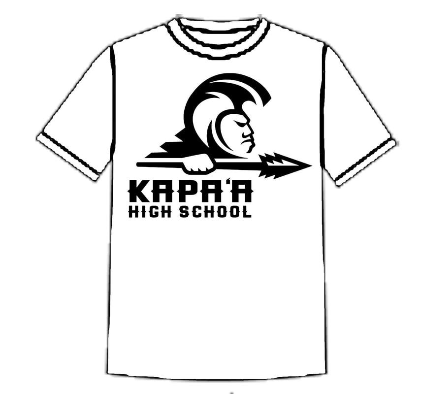 Spiderwire Logo Design T Shirt Size Medium Polyester: Kapa'a High School